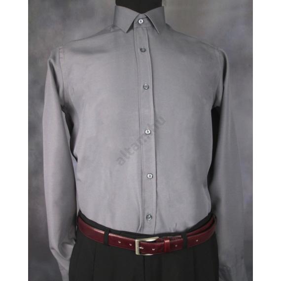 Daniel Figaro, szürke, férfi ing. Méret: 37