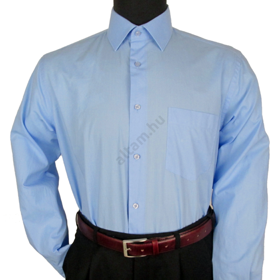 Francesco Uomo, ClassicFit, középkék férfi ing. Méret: 46
