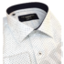 Kép 6/7 - Francesco Uomo, slim, fehér, apró mintás férfi ing. Méret: 52