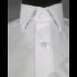 Kép 7/7 - Francesco Uomo, classic fit, fehér férfi ing. Méret: 37