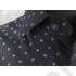 Kép 6/7 - Daniel Figaro, kék alapon fehér-virágszirmos, férfi ing. Méret: 39