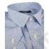 Kép 7/8 - Daniel Figaro, fehér alapon világoskék, fekete, keresztcsíkos férfi ing. Méret: 43