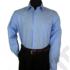 Kép 5/6 - Francesco Uomo, ClassicFit, középkék férfi ing. Méret: 46