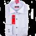 Kép 1/2 - Eterna vasalás mentes fehér-kék, férfi ing